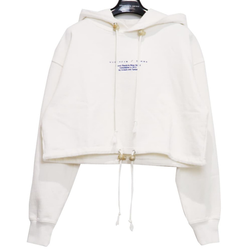 VICTORIA/TOMAS / vic CROPPED HOODIE<br>Size:S ¥31,900→¥22,330 tax in