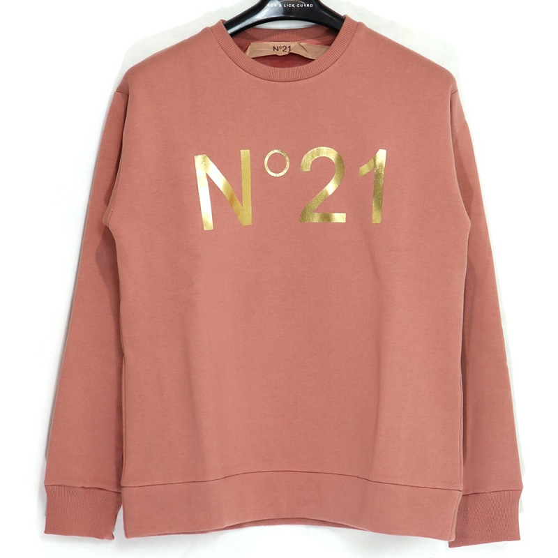 N゜21 / n21 Gold Logon Pullover 19AW-E041-4011<br>Size:S ¥46,200→¥32,340 tax in