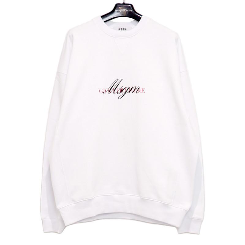 MSGM / MS LOGO SWEAT<br>Size:L ¥39,600 tax in